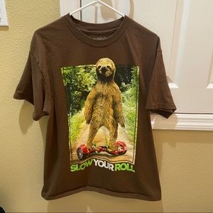 Large Men's Sloth T Shirt
